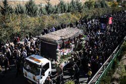 شہید محمد محمدی کی تشییع جنازہ