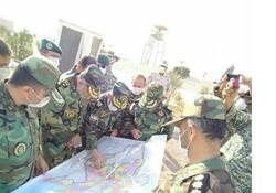 فرمانده نیروی زمینی ارتش در مرزهای خداآفرین حضور پیدا کرد