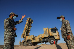 Iran Armed Forces' joint air defense exercise