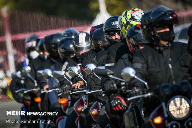 مسابقات موتورسواری به مناسبت هفته نیروی انتظامی