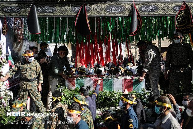 مراسم تشییع پیکر مطهر شهید امر به معروف «محمد محمدی»