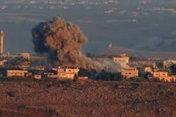 الصهاينة يقصفون سوريا والأضرار تقتصر على الماديات