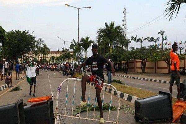 People shot dead in public protest in Lagos, Nigeria
