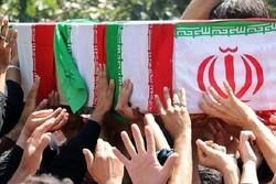 پیکر جانباز شهید «تیمور خانجانی» در رشت تشییع شد