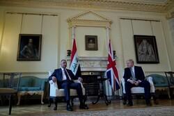 الكاظمي يلتقي نظيره البريطاني في آخر محطاته الأوروبية