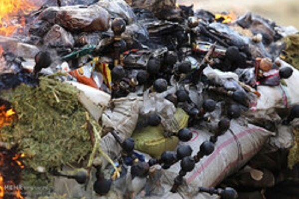 VIDEO: 2.7 tons of illicit drugs destroyed in Mazandaran