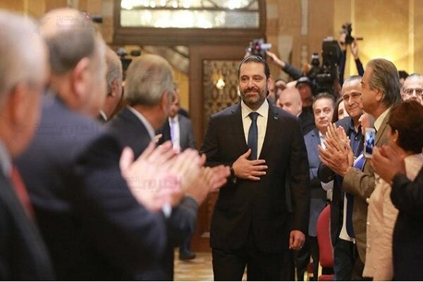 انتخاب سعد الحریری به عنوان نخست وزیر مکلف لبنان