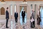 سفرای پاکستان و عمان استوارنامه های خود را تقدیم بشار اسد کردند