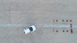 مسابقات اتومبیلرانی اسلالوم در قشم