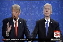 امریکی صدارتی امیدواروں کے آخری مباحثہ میں ایکدوسرے پر چین اور روس سے پیسے لینے کے الزامات