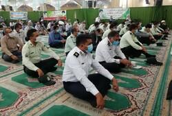 جمعی از پرسنل نیروی انتظامی در لامرد تجلیل شدند