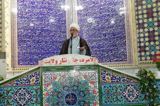 تاکید امام جمعه لامرد  نسبت به  صرفه جویی در مصرف آب