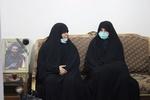 جمعی از نمایندگان مجلس در منزل شهید امر به معروف حضور یافتند