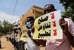 اعضای یک هیأت سودانی با مسئولان رژیم صهیونیستی دیدار کردند