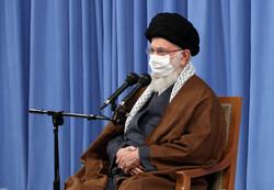 جلسة اللجنة الوطنيّة لمكافحة كورونا بحضور الإمام الخامنئي في حسينيّة الإمام الخميني (قده) / صور