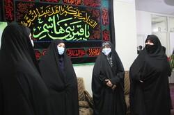 شہدائے انقلاب اسلامی کے بعض اہلخانہ کی شہید محمدی کے اہلخانہ سے ملاقات