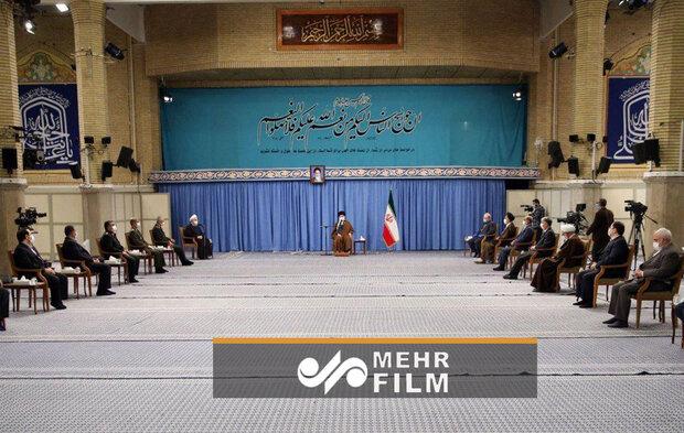 جلسه ستاد ملی مقابله با کرونا در حضور رهبر معظم انقلاب اسلامی فیلم