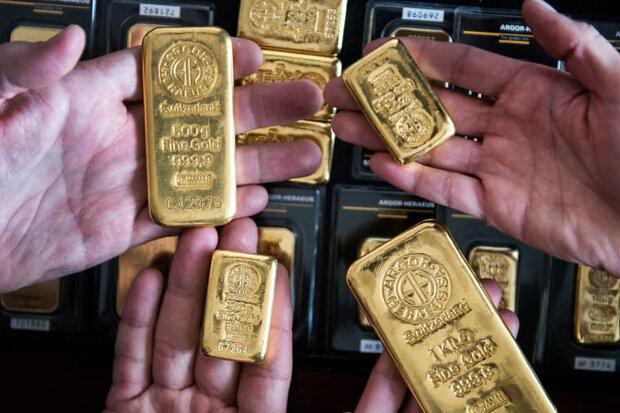 قیمت جهانی طلا با افت دلار رشد کرد/ هر اونس ۱۸۶۰ دلار,