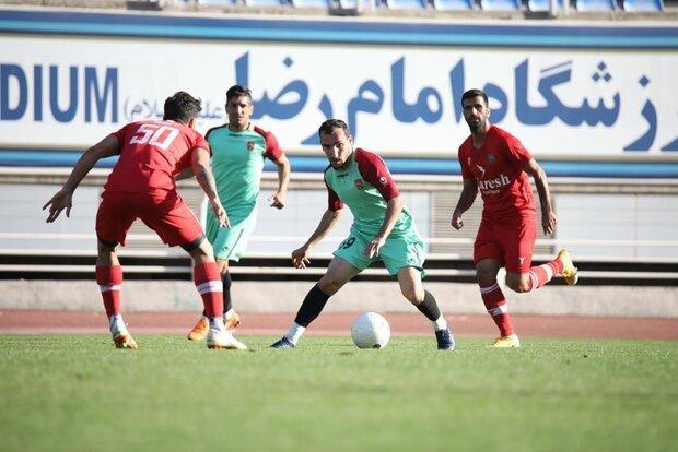 پیروزی شهرخودرو مقابل حریف لیگ برتری در بازی تدارکاتی