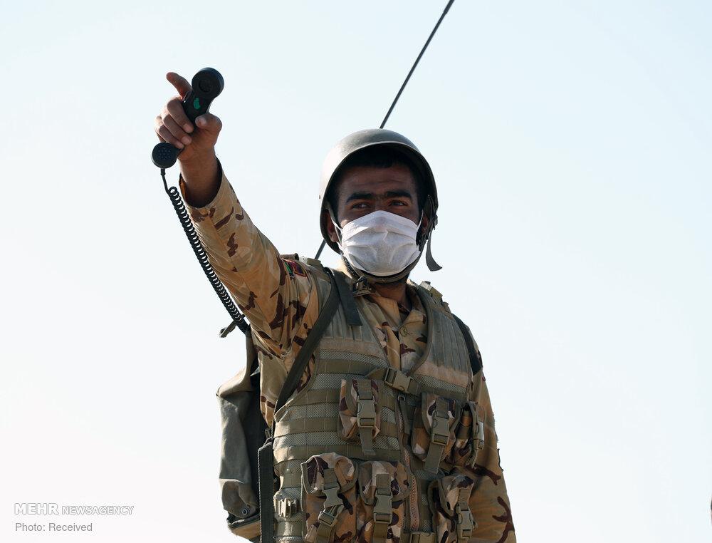 رزمایش نیروی زمینی ارتش در مناطق مرزی شمال غرب کشور
