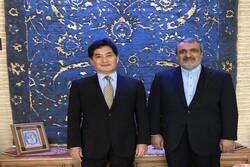 Iran Embassy felicitates Japanese new Ambassador in Tehran
