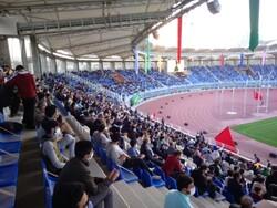 برگزاری جشن بیعت با امام زمان(عج) در ورزشگاه امام رضا(ع) مشهد