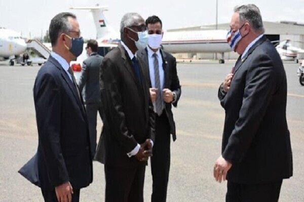 آمریکا حذف نام سودان از لیست سیاه را مشروط به عادی سازی روابط کرد