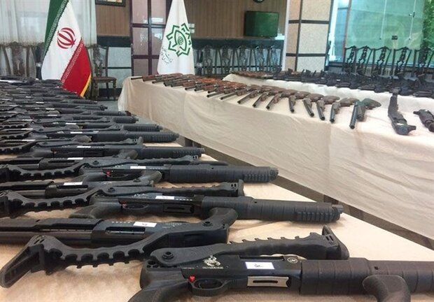 IRGC confiscates haul of weapons in northern Iran