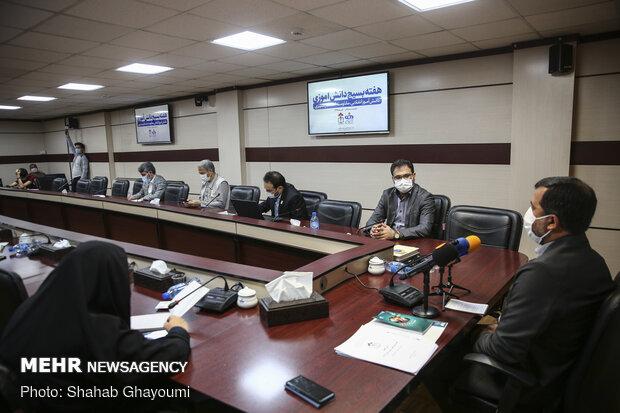 نشست خبری هفته بسیج دانش آموزی