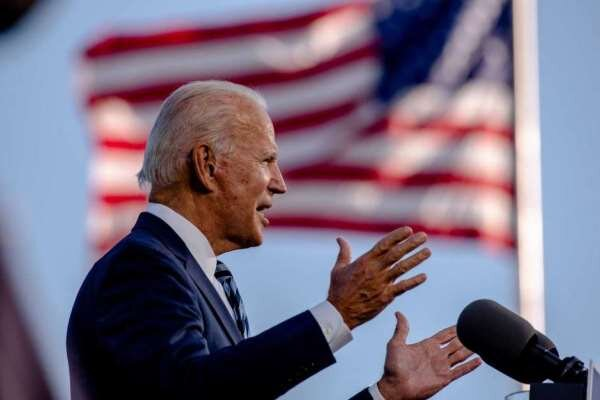 Biden campaign slams Trump 'outrageous' victory claim