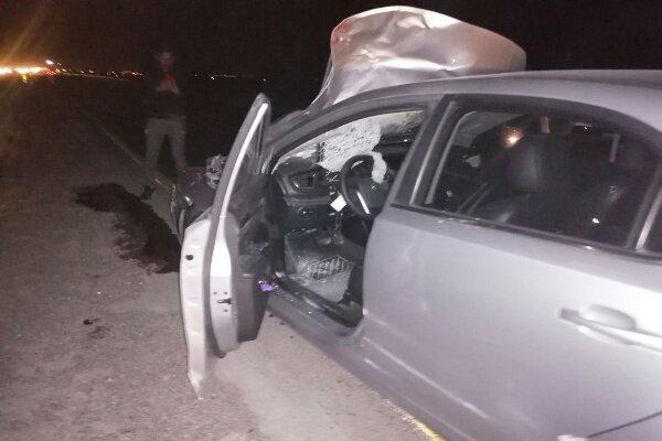 برخورد خودروی سواری و عابر پیاده حادثه آفرید