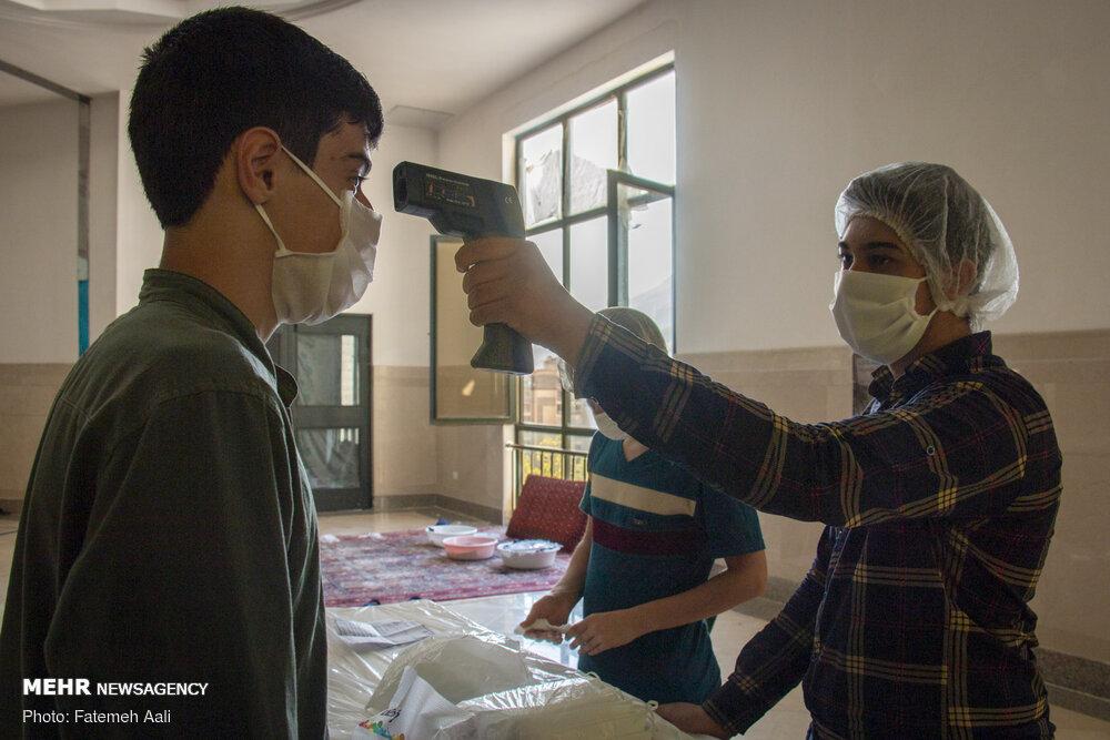 کورونا وائرس کا مقابلہ کرنے کے لئے مساجد کے نوجوان متحرک