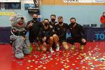 پیروزی تیم امین میرالماسی در نخستین هفته لیگ تنیس روی میز  فرانسه