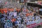 بنگلہ دیش میں فرانس میں گستاخانہ خاکوں کی اشاعت کے خلاف عظیم ریلی