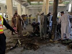 پشاور میں مدرسہ میں بم دھماکے کے نتیجے میں 7 افراد ہلاک 112 زخمی