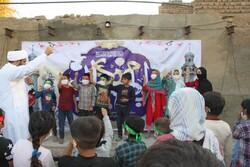 جشن سالروز امامت ولی عصر (عج) در مناطق محروم جنوب تهران