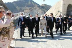 نائب وزير الخارجية يزور المناطق الحدودية في شمال غرب إيران