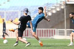 پرسپولیس تمرین گل کوچک و بازی درون تیمی انجام داد