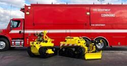 آتش نشان رباتیک استخدام شد