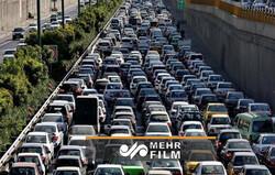ترافیک و رفت و آمدها در تهران کاهش یافت؟