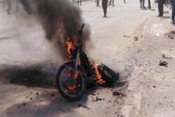 تصادف زنجیرهای موتورسیکلت ۴ مصدوم برجای گذاشت