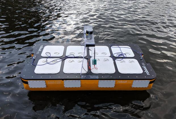 قایق خودران با قابلیت جابجایی مسافر