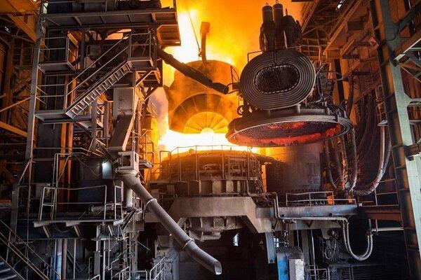 رشد ۲۰ درصدی تولید شمش و محصولات فولادی