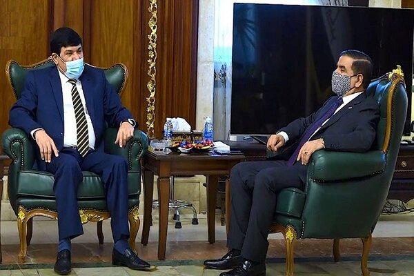 وزير الدفاع العراقي وسفير سوريا في بغداد يبحثان تعزيز العلاقات الثنائية