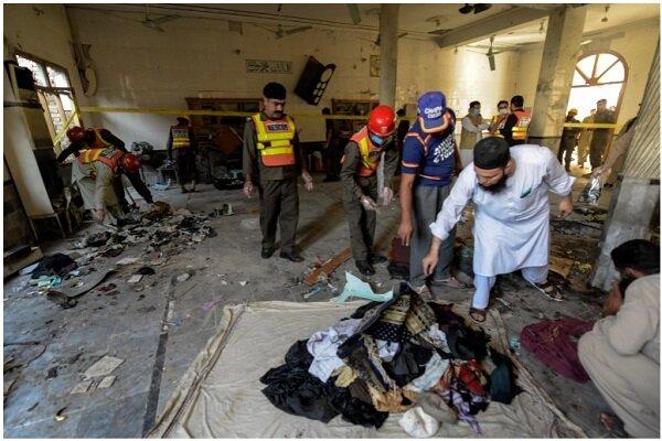 انفجار در مسجدی در پیشاور پاکستان ۷۹ کشته و زخمی برجای گذاشت
