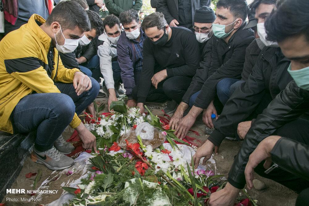 تبریز میں شہید خلیل روندہ کی تشییع جنازہ اور تدفین