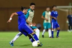 پیروزی تیم فوتبال صنعت نفت آبادان در دیداری دوستانه