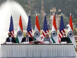 بھارت اور امریکہ کے مابین حساس سیٹلائٹ معلومات کے تبادلے کےمعاہدے پر دستخط