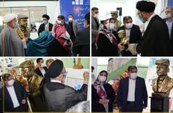 تندیس پدر صنعت آذربایجان شرقی رونمایی شد