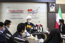Nuceba Hareketi'nin Genel Sekreteri'nin basın toplantısından kareler